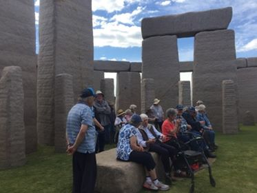 An outing to Stonehenge